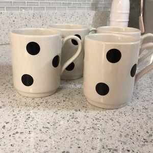 Deco dot coffee cups ♠️☕️